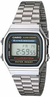 Casio Collection Unisex-Armbanduhr A168WA 1YES - 1