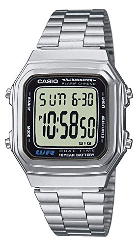 Casio Collection Unisex-Armbanduhr A178WEA 1AES - 1