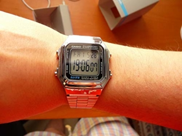 Casio Collection Unisex-Armbanduhr A178WEA 1AES - 5