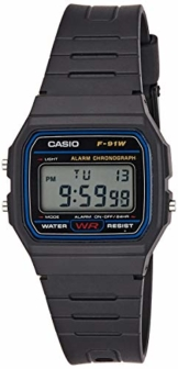 Casio Collection Unisex-Armbanduhr F-91W-1YER - 1