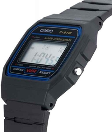 Casio Collection Unisex-Armbanduhr F-91W-1YER - 4