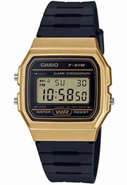 Casio Collection Unisex Armbanduhr F-91WM-9AEF - 1