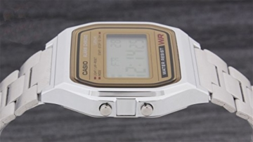 Casio Collection Unisex Retro Armbanduhr A158WEA-9EF - 4