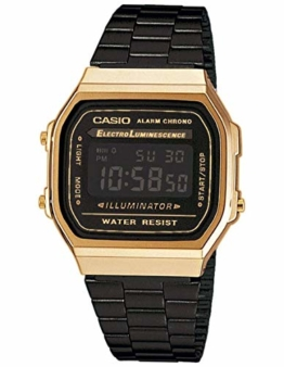 Casio Collection UnisexRetro Armbanduhr A168WEGB-1BEF - 1