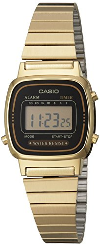 Casio Damen-Armbanduhr Digital Quarz LA670WGA-1DF - 1