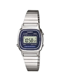 Casio Damen-Armbanduhr XS Casio Collection Digital Quarz Edelstahl LA670WEA-2EF - 1