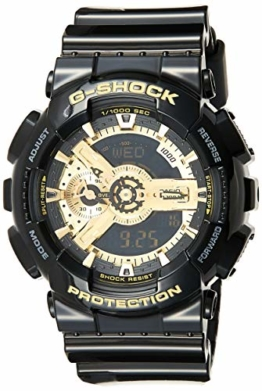 Casio Herren Analog/Digital Quarz mit Resin Armbanduhr GA110GB1AER - 1
