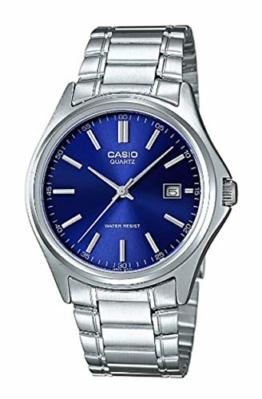 Casio Herren Analog Quarz mit Edelstahl Armbanduhr MTP1183PA2A - 1