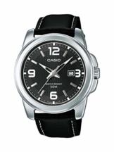 Casio Herren Analog Quarz mit Leder Armbanduhr MTP1314PL8A - 1