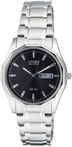 Citizen Herren Analog Quarz Uhr mit Edelstahl Armband BM8430-59EE - 1