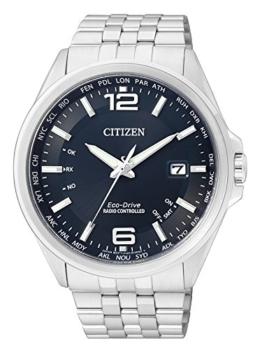 Citizen Herren Analog Quarz Uhr mit Edelstahl Armband CB0010-88L - 1