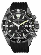 Citizen Herren Analog Quarz Uhr mit Kunststoff Armband AT2437-13E - 1