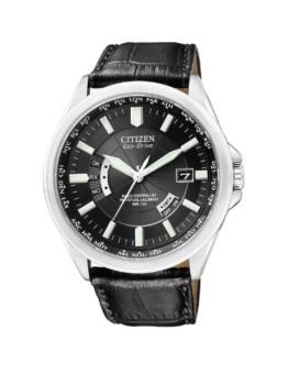 Citizen Herren Analog Quarz Uhr mit Leder Armband CB0010-02E - 1