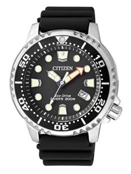 Citizen Herren Analog Quarz Uhr mit Plastik Armband BN0150-10E - 1