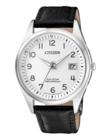 Citizen Herren Analog Solar Uhr mit Leder Armband AS2050-10A - 1