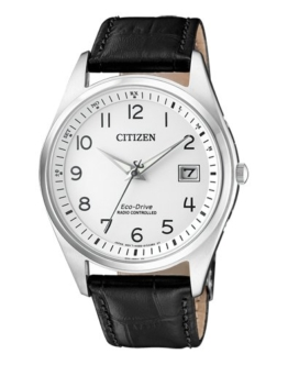 Citizen Herren Analog Solar Uhr mit Leder Armband AS2050-10A - 1