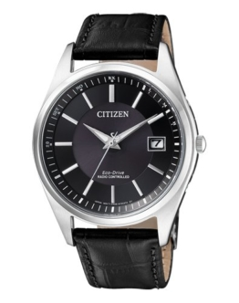 Citizen Herren Analog Solar Uhr mit Leder Armband AS2050-10E - 1