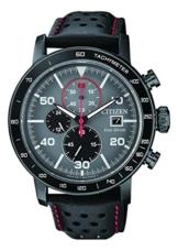 Citizen Herren Chronograph Quarz Uhr mit Leder Armband CA0645-15H - 1