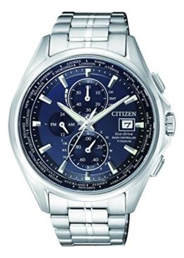 Citizen Herren Chronograph Quarz Uhr mit Titan Armband AT8130-56L - 1