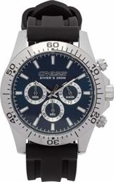 Cressi Unisex 1946 Nereus Watch Erwachsene Professionelle Taucheruhren, Silber/Blau, Einheitsgröße - 1