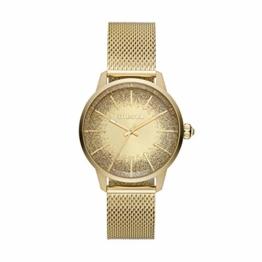 Diesel Damen Analog Quarz Uhr mit Edelstahl Armband DZ5591 - 1