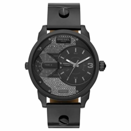 Diesel Damen-Uhren Analog Quarz One Size Leder 87594904 - 1