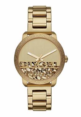 Diesel DZ5587 Flare Rocks Uhr Damenuhr Edelstahl vergoldet 5 bar Analog Gold - 1