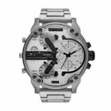Diesel Herren Analog Quarz Uhr mit Edelstahl Armband DZ7421 - 1