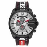 Diesel Herren Chronograph Quarz Uhr mit Nylon Armband DZ4512 - 1