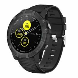 【Neuestes Modell】 Smartwatch,Antimi Fitness Uhr Bluetooth Smart Watch Fitness Tracker mit Pulsuhr Schrittzähler Blutdruckmessung und Sportuhr IP68 Wasserdicht Damen Herren Uhr für IOS/Android - 1