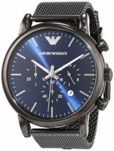 Emporio Armani Herren-Uhr AR1979, Schwarz - 1