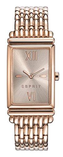 Esprit Damen-Armbanduhr ES VICKI ROSE GOLD Analog Quarz Edelstahl ES108492003 - 1