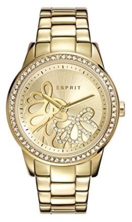 Esprit Damen Armbanduhr klassisch Quarz Edelstahl ES108122005 - 1