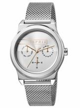 Esprit Damen Multi Zifferblatt Quarz Uhr mit Edelstahl Armband ES1L077M0045 - 1