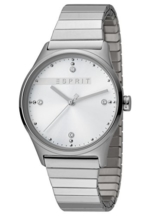 Esprit Damenuhr VinRose Silver Matt 3 Bar Analog Edelstahl Silber ES-1L032E0095 - 1