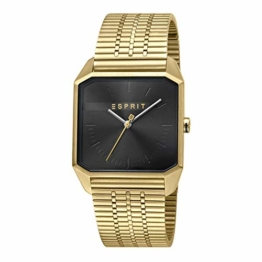 Esprit ES1G071M0065 Cube Gents Black Gold Herrenuhr - 1