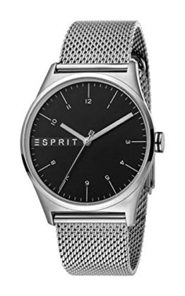 Esprit Herren Analog Quarz Uhr mit Edelstahl Armband ES1G034M0065 - 1