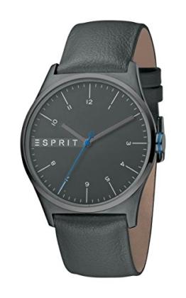 Esprit Herren Analog Quarz Uhr mit Leder Armband ES1G034L0045 - 1