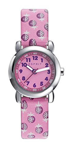 Esprit Mädchen Analog Quarz Uhr mit Plastik Armband ES906494006 - 1