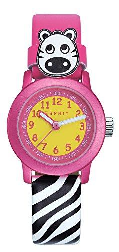Esprit Mädchen Armbanduhr Datum klassisch Quarz Leder ES106414031 - 1