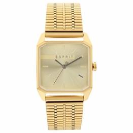 Esprit Uhr mit Gliederarmband, aus Edelstahl - 1