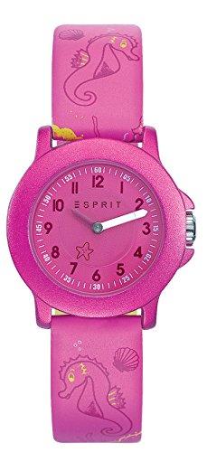 Esprit Unisex Analog Quarz Smart Watch Armbanduhr mit Leder Armband ES103454012 - 1