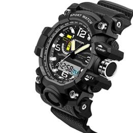 Fenkoo Herren / Paar Sportuhr / Militäruhr / Smart Uhr / Modeuhr / Armbanduhr digital / Japanischer QuartzLED / Chronograph / Wasserdicht / - 1