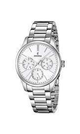 Festina Damen Analog Quarz Uhr mit Edelstahl Armband F16813/1 - 1