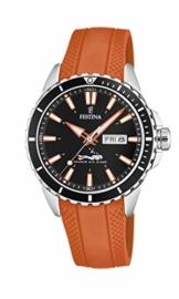 Festina Herren Analog Quarz Uhr mit PU Armband F20378/5 - 1