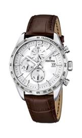 Festina Herren-Armbanduhr Analog Quarz Leder F16760-1 - 1
