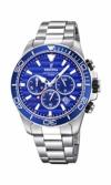 Festina Herren Chronograph Quarz Uhr mit Edelstahl Armband F20361/2 - 1