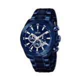 Festina Herren Chronograph Quarz Uhr mit Edelstahl beschichtet Armband F16887/1 - 1