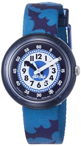 Flik Flak Jungen Analog Quarz Smart Watch Armbanduhr mit Stoff Armband FPNP017 - 1