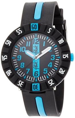 Flik Flak Jungen Analog Quarz Uhr mit Gummi Armband FCSP031 - 1